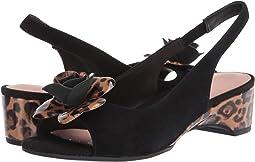 Black Suede/Leopard