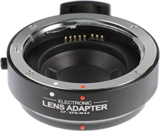 FOTGA Lens Mount Adapter for Leica M Lens to Micro Four Thirds M4//3 MFT Camera Olympus Pen E-PL6//7//8 E-M OM-D E-M5 E-M10 Mark II//III Panasonic Lumix GH1 GH2 GH3 GH4 GH5 GH5s