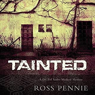 Tainted audiobook cover art