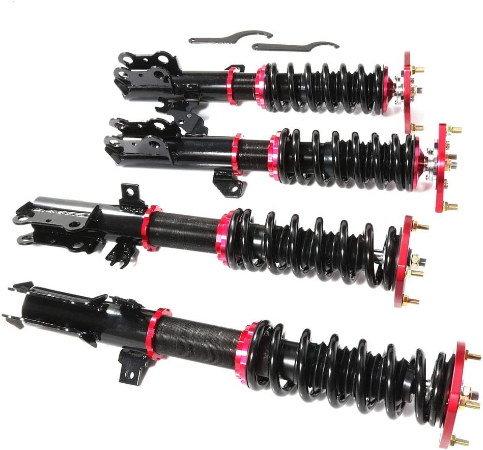 ANGLEWIDE Adjustable Outlet SALE Limited time trial price Height Coilovers Struts Front Rear And Fit