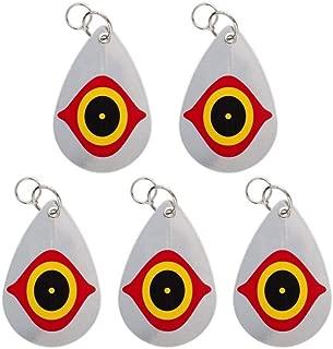 Cainda Bird Repellent Horrible Predator Eye, Birds Deterrent Hanging Devices Scare Birds Away from Your Barns Garden Windows Warehouse (5 Pack)