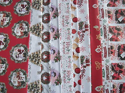 20 hojas de papel de regalo tradicional de Navidad