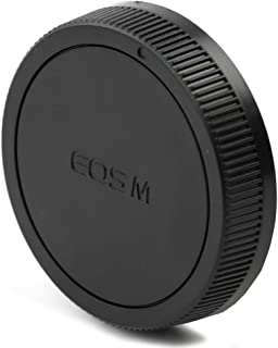 CELLONIC Tapa Objetivo Posterior Compatible con Canon EF-M 18-55mm 18-150mm, Tamron 18-200mm F3.5-6.3, Walimex Pro 100/2.8 16/2.2 VDSLR 50/1.5 8/2.8, Bayoneta Cubierta Protectora EOS EF-M Mount