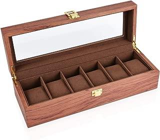 Watch Box Jewelry Storage Box Brown