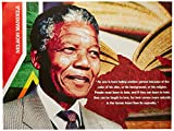 777 Tri-Seven Entertainment Nelson Mandela Poster No One Is