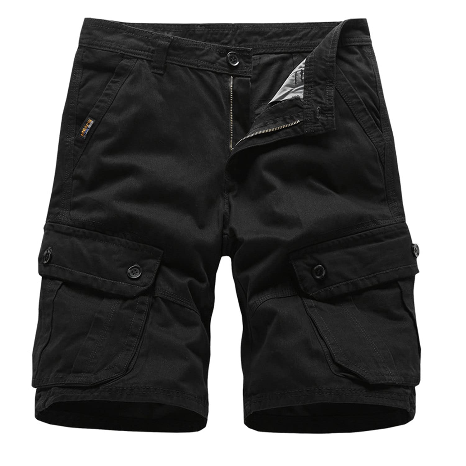 Men's Cargo Work Shorts Casual Cotton Relaxed Fit S Cheap mail Max 85% OFF order specialty store Multi Pocket