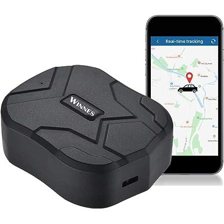 Zeerkeer GPS Tracker,10000mAH Localizador GPS Seguimiento en Tiempo Real Alarma Anti-pérdida Profesional Rastreador GPS Impermeable para Coche, Moto,Congelador, Barco