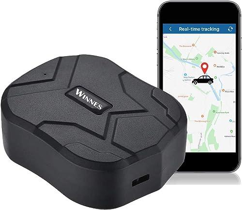 GPS Tracker,150 Giorni in Standby Impermeabile Anti-perso Localizzatore GPS con Geo-Fence Alarm Tracciatore di Posizi...