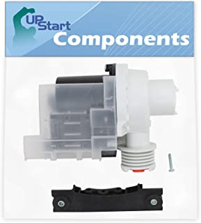 137221600 Washer Drain Pump Kit Replacement for Gibson GWY1343AS1 Washing Machine - Compatible with 137221600 Water Pump - UpStart Components Brand