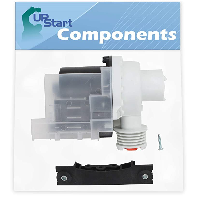 137221600 Washer Drain Pump Kit Replacement for White Westinghouse WWS833ES1 Washing Machine - Compatible with 137221600 Water Pump - UpStart Components Brand