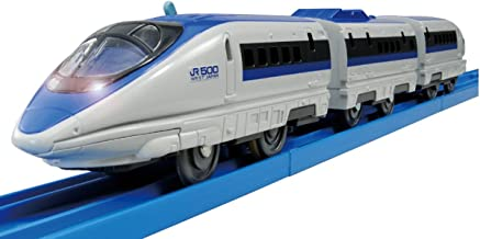 Tomica PraRail S-02 Series 500 Bullet Train With Light (Model Train) by Takara Tomy