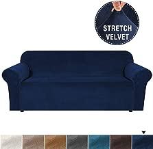 غطاء مخملي للأريكة من القطيفة المقاومة للانزلاق، غطاء للأريكة المنزلقة يبقى في مكانه غطاء الأثاث الغني للغاية من أجل الحياة، واقي للأريكة مناسب من القطيفة عالية التمدد