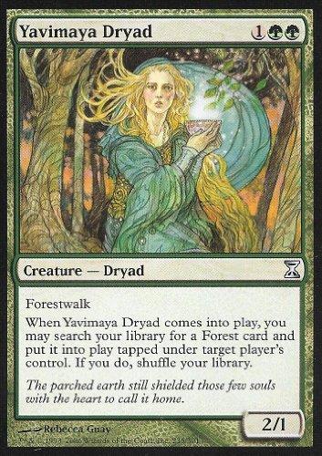 Magic The Gathering - Yavimaya Dryad - Time Spiral