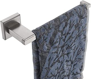 JQK Hand Towel Bar, Stainless Steel Towel Ring Holder for Bathroom, Brushed Finish Wall Mount, TR200-BN