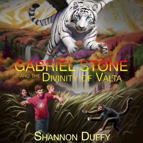 Gabriel Stone and the Divinity of Valta audiobook cover art