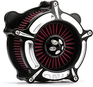 Turbine Air Cleaner road king air Intake system air Filter Harley Softail touring Dyna Parts 01-07