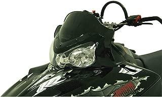 Cobra Windshield - 11.5in. - Black 2007 Polaris 600 HO CFI SwitchBack Snowmobile