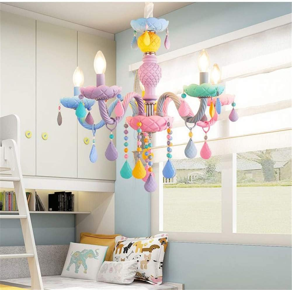 BAYCHEER Colorful Now New product!! free shipping Crystal Chandeliers Room Warm Romant Princess