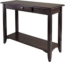 Winsome Nolan Occasional Table, Cappuccino