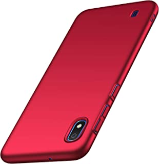 Banzn Case for Samsung Galaxy A10, Ultra-Thin Premium Material Slim Full Protection Cover for Galaxy A10 6.2 inch (Red)