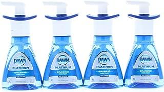 4 Pk. Dawn Ultra Platinum Foam Dishwashing Fresh Rapids Scent 10.1 fl oz 190 Pumps (40.4 Fl Oz 760 Pumps Total)