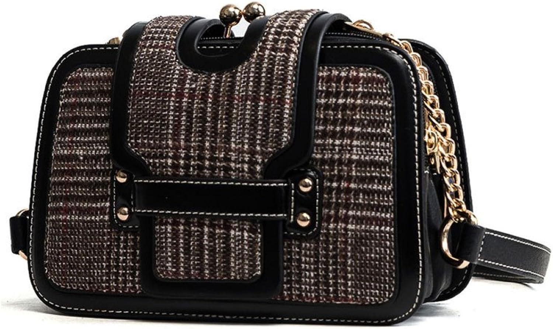 AJLBT Mode Gitter Tasche Europa Und Den Vereinigten Staaten Mode Handtaschen Trend Handtaschen Damen Tasche B07DMY66T2  Moderne Technologie