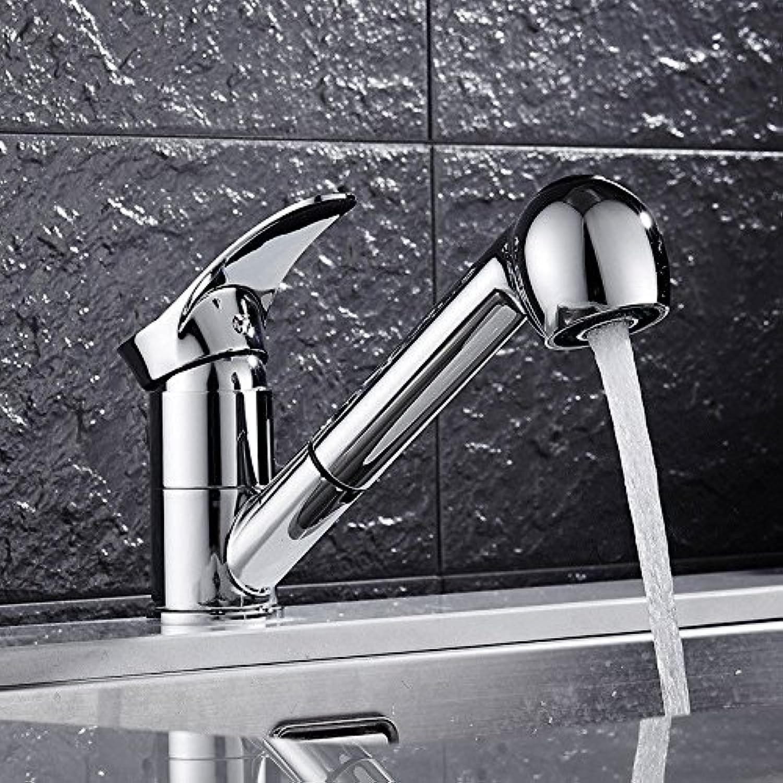 ETERNAL QUALITY Badezimmer Waschbecken Wasserhahn Messing Hahn Waschraum Mischer Mischbatterie Küche Wasserhahn Warmes und Kaltes Gericht Waschbecken Armaturen für den WA