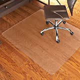 ES Robbins Everlife 60' x 72' Multitask Series Hard Floor Rectangle Chairmat, Clear