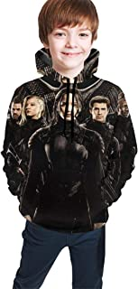 Hunger Games Friend Unisex Child Teenagers Hooded Sweate Pullover Hoodie Sweatshirt for Girl Boys
