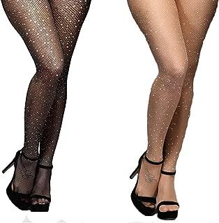Best crystal rhinestone stockings Reviews