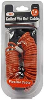 Best coiled dog tie out cable Reviews