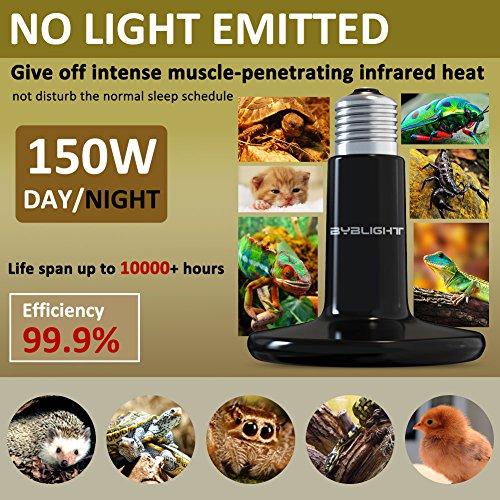 BYB - 150W 110V Ceramic Infrared Heat Emitter...