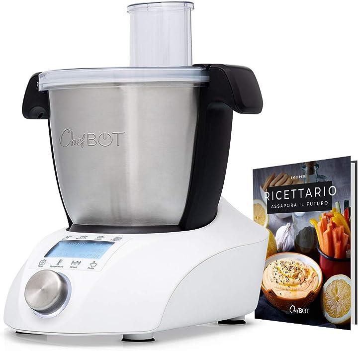 Robot da cucina multifunzione, compatto, 23 funzioni, 10 velocità ikohs chefbot compact B07YKZBP8V