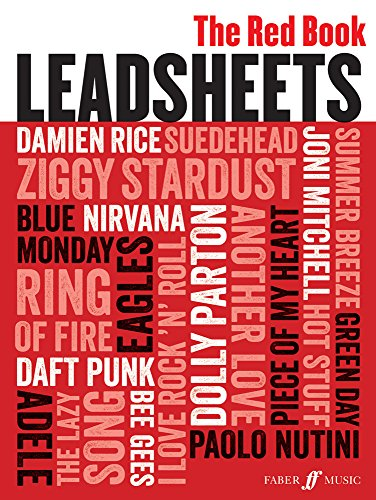 Lead sheets (Red Book) (Melody, Chords and Lyrics)