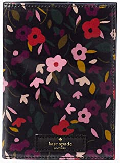 daycation boho floral passport Black multi