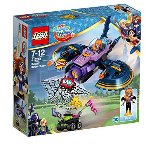 Abysse - 41230 - Jeux de Construction - Poursuite En Batjet - Super Heroes Girls