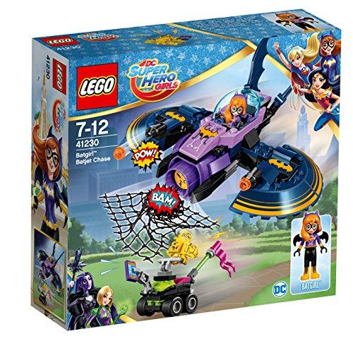 LEGO DC Comics Super Heroes Persecución en el batjet de Batgirl - Juegos de construcción (Multicolor, 7 año(s), 206 Pieza(s), Dibujos Animados, Chica, 12 año(s))