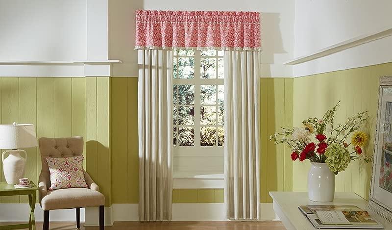 MaryJane S Home Garden View Window Valance 80 X 15