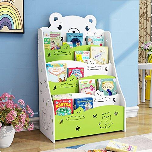 Bibliothèque pour enfants Etagère pour Enfant Bibliothèque Enfant avec des Etagère Enfant Livres Chambre d'enfant Bibliothèque Meuble de Rangement Etagère Livrese Stockage ( Color : Green )