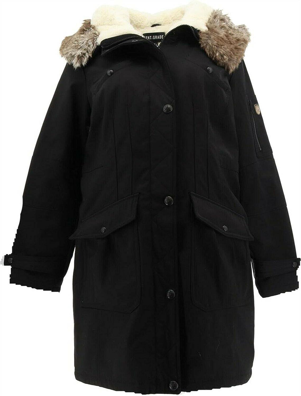 Centigrade Parka Coat Faux Furs A385701