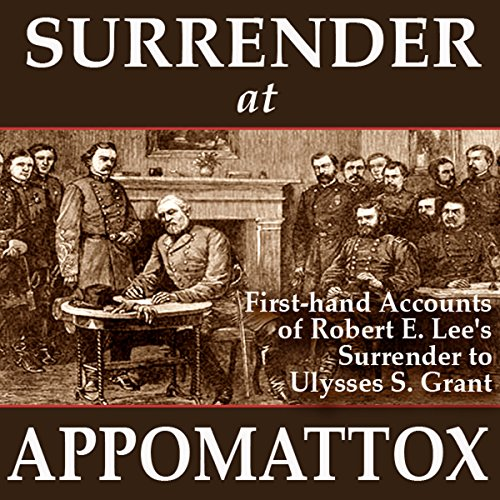 Surrender at Appomattox audiobook cover art