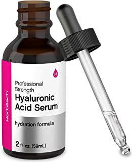Hyaluronic Acid Serum for Face & Skin | 2 oz | Paraben & SLS Free Moisturizer | By Horbaach