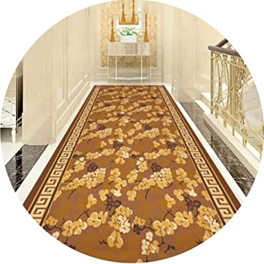 JIAJUAN Runner Rug for Hallway Living Room Bedroom Entryway Antistatic Colorfast Collection Contemporary Area Rugs (Color : A