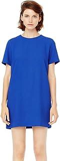 Mango Straight Dress for Women - Blue M