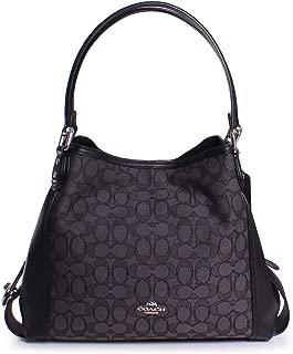 COACH Women's Signature Edie 31 Shoulder Bag