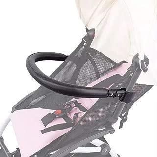 Baby Stroller Bumper Bar,Armrest, Handle, Crossbar Accessories for BBZ YoYo and Yoyo+,Black PU Leather