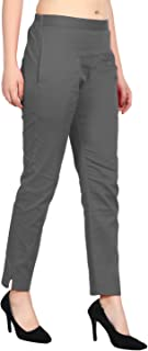 SriSaras Women's Premium Cotton Trousers/Pants