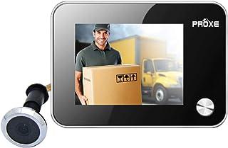Ville Istituzioni aziendali per uffici Ricarica USB 4,3 Pollici 166 Gradi Ampio Angolo di Visione Telecamera per visore Porta WiFi Smart Motion Redxiao Telecamera per Campanello WiFi