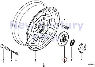 BMW Genuine Cross-Spoke Styling (Styl.8) Turbine Styling (Styl.9) Hub Cap 840Ci 840i 850Ci