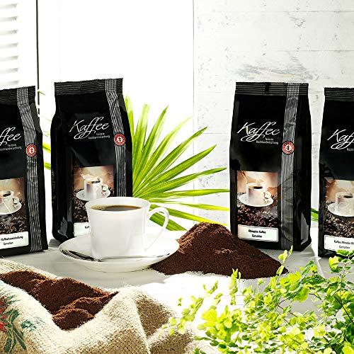 Schrader Kaffee Auswahl Exquisit, gemahlen (Set, 4tlg.)